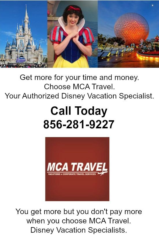 Authorized Disney Travel Agent in South Jersey-Cherry Hill