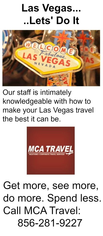 Travel agent specializing in Las Vegas trips